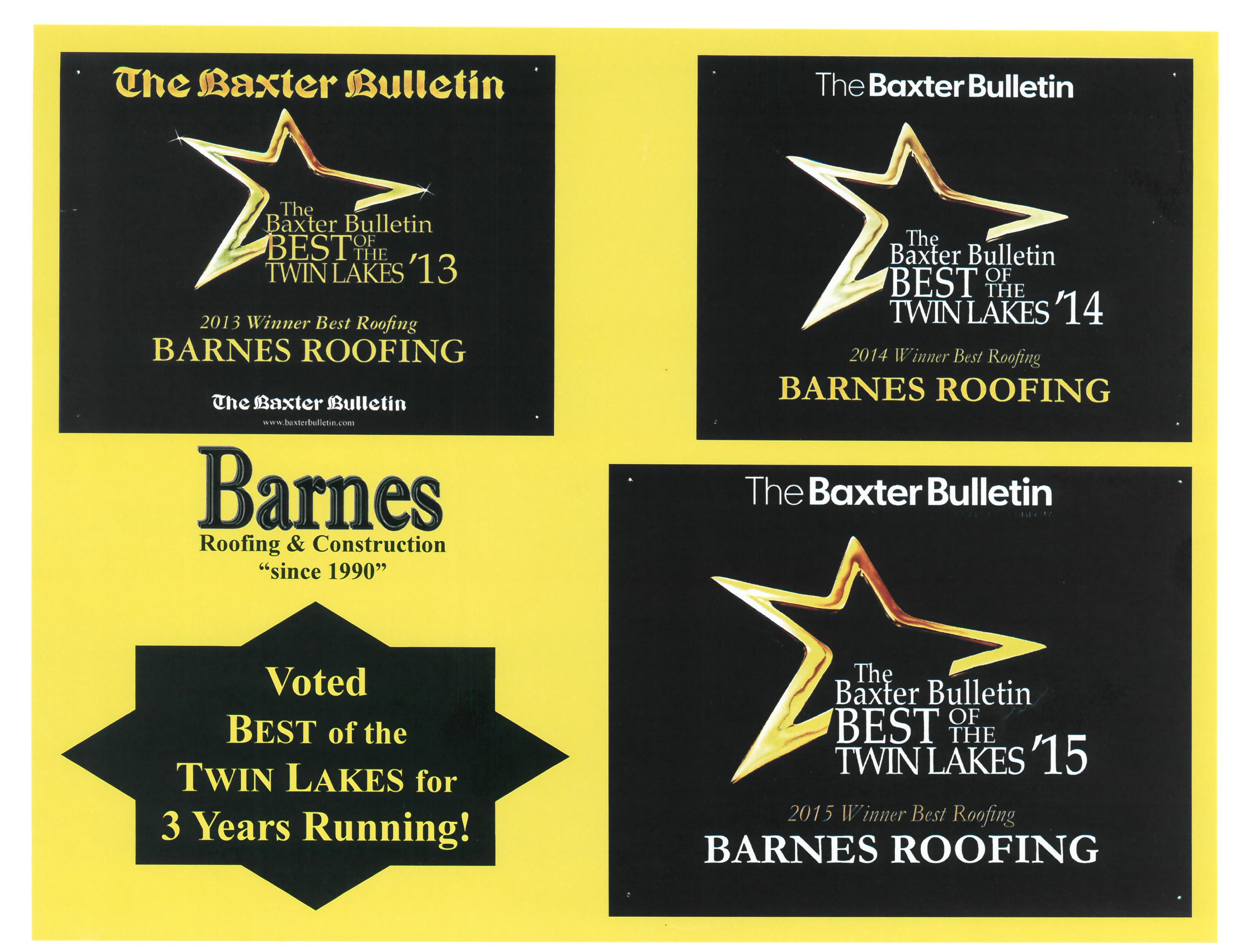 Barnes Roofing