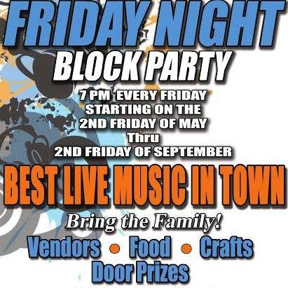 Mountain Home's Friday Night Block Party on the Square